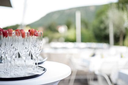 Livios Café, Bar und Restaurant - Ihre Veranstaltung mit Sektempfang
